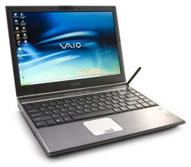 Portátil Usado Sony Vaio SZ1XP